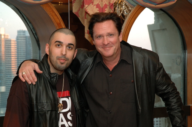 Raoul With Michael Madsen