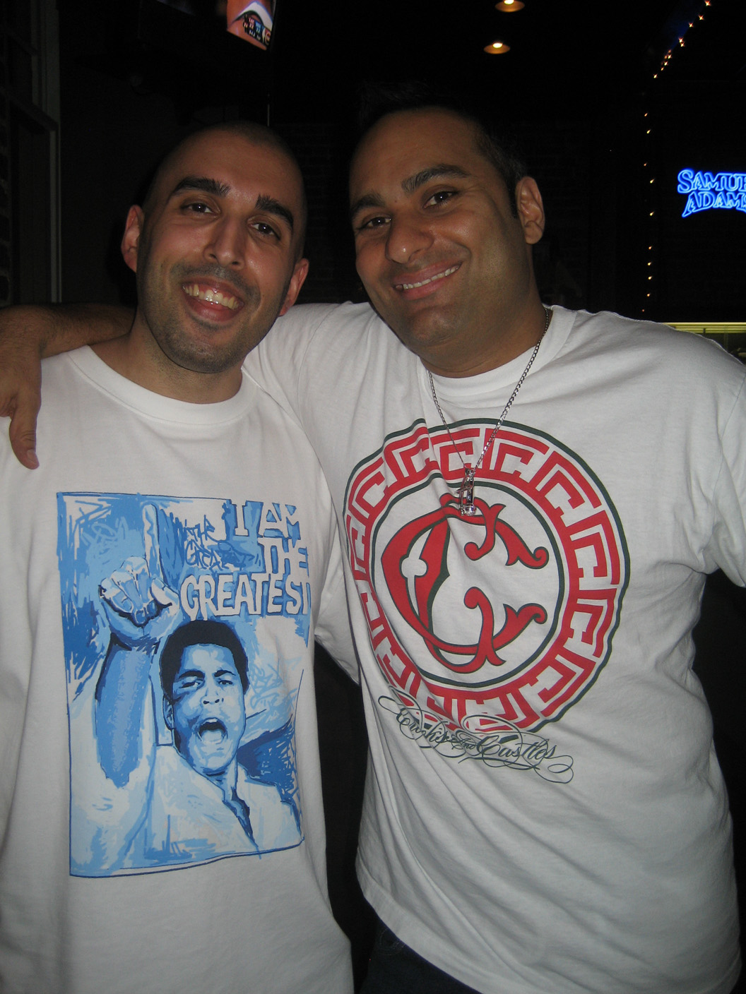 Raoul with Russell Peters