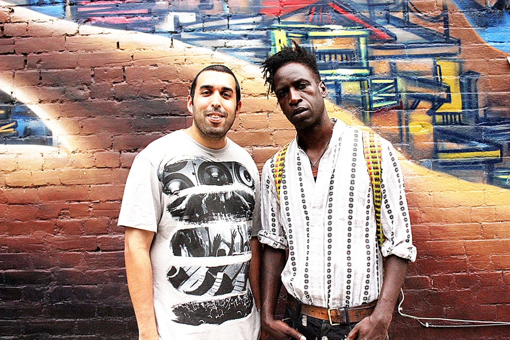 Raoul with Saul Williams