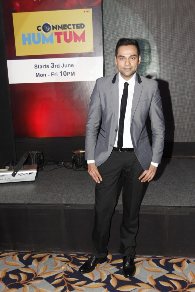 Abhay Deol at the launch of Connected Hum Tum