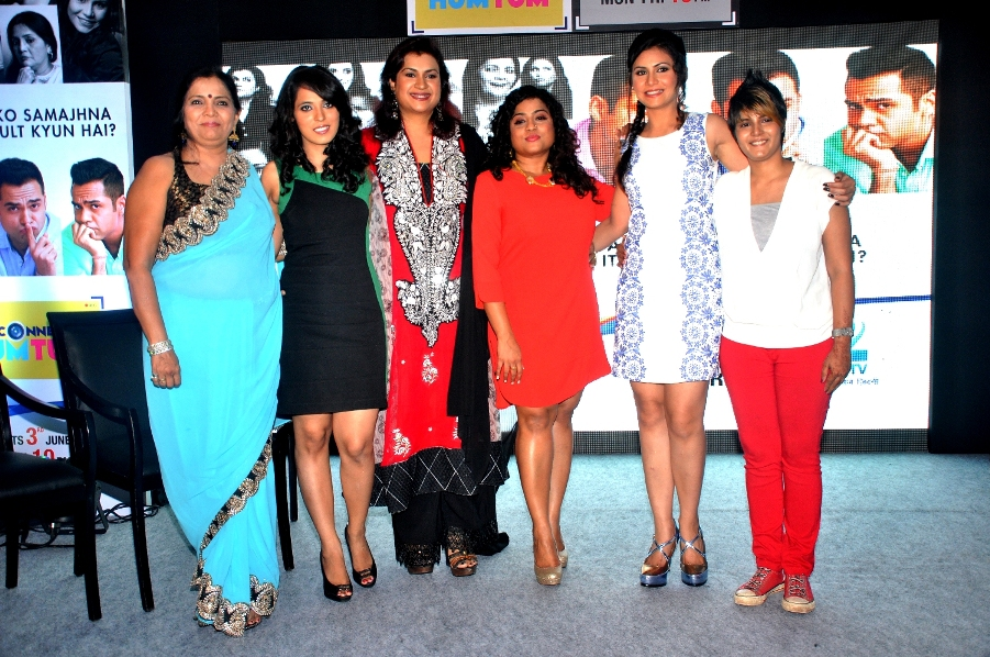 Madhavi, Mahima, Preeti, Malishka, Pallavi and Sonal of Connected Hum Tum