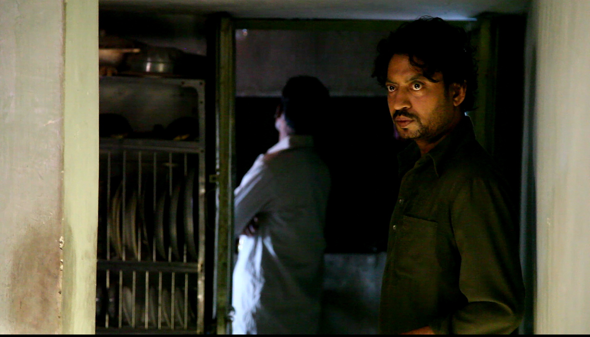 Irrfan in his house