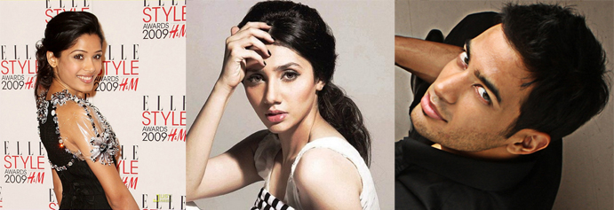 Abbas Hasan and Frieda Pinto or Mahira Khan
