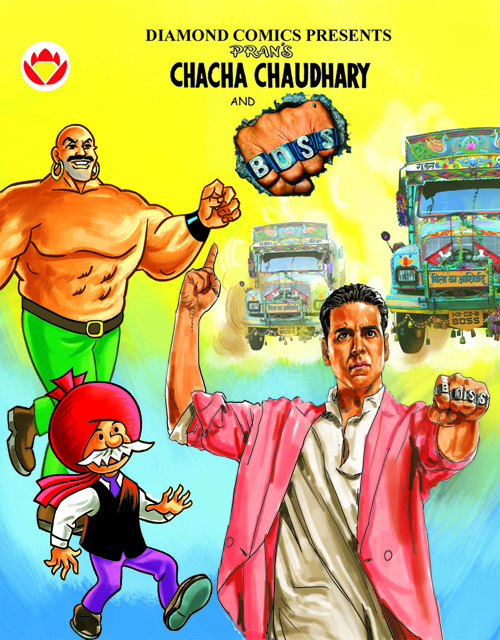 Boss ties up with Comic Book Chacha Chaudhary! | Urban Asian