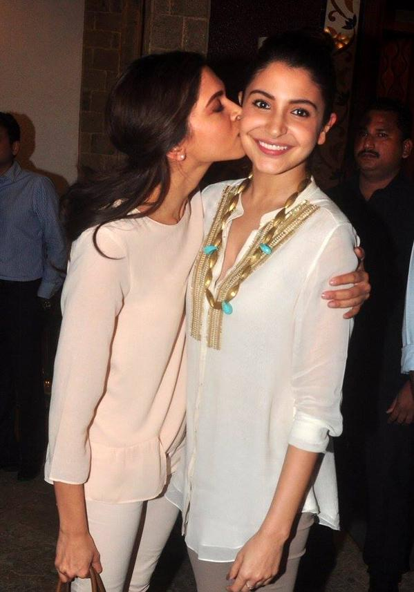 Whoa! Deepika Padukone kisses Anushka Sharma! | Urban Asian