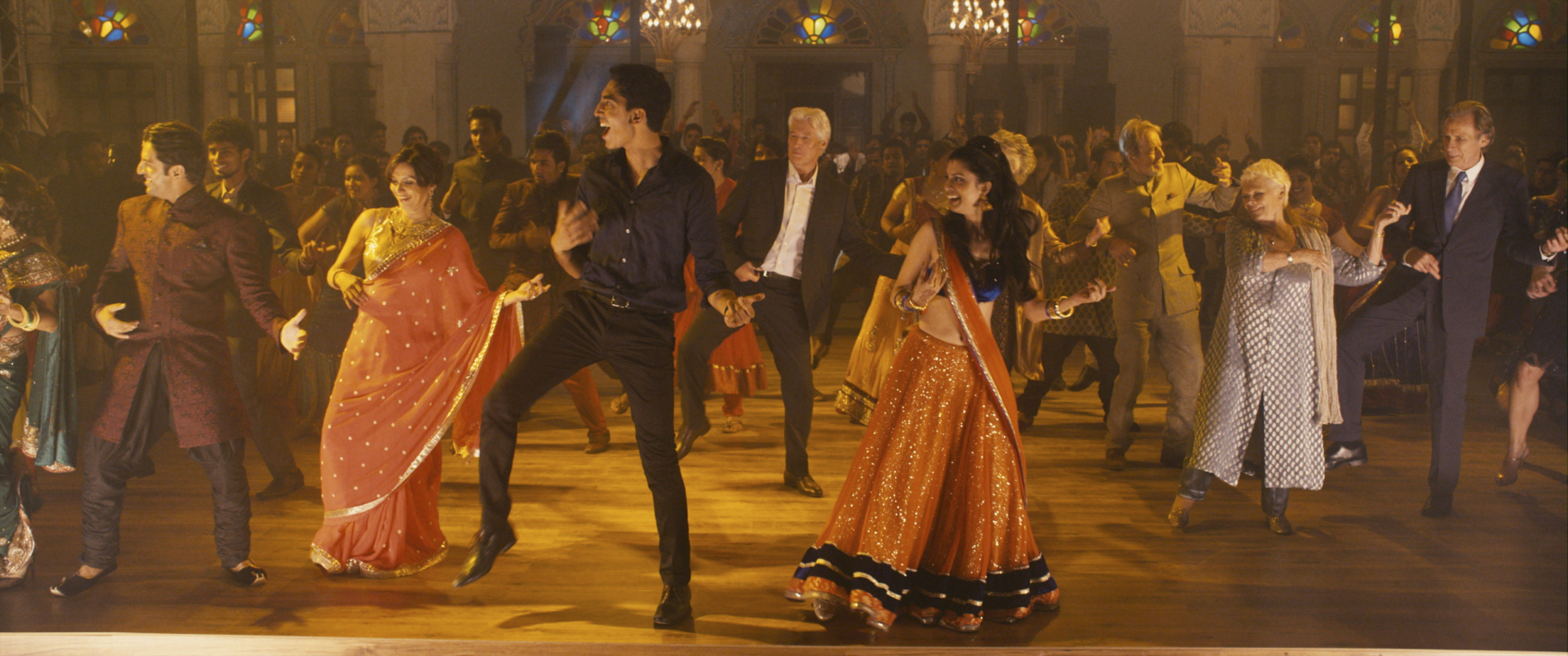 A still from The Second Best Exotic Marigold Hotel film