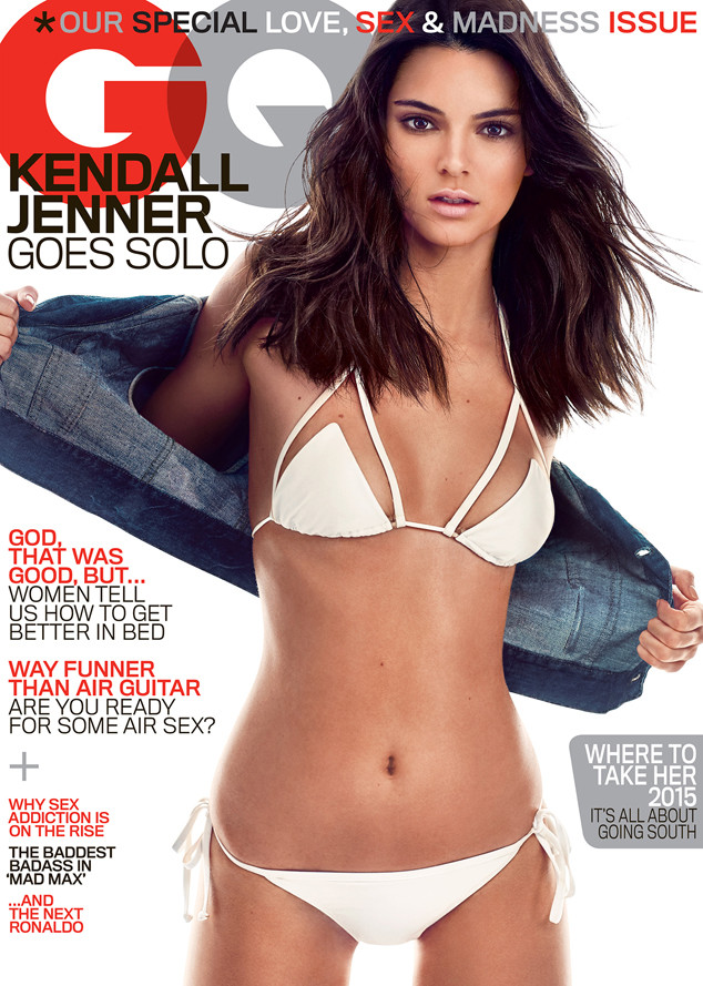 Kendall Jenner on the cover of GQ