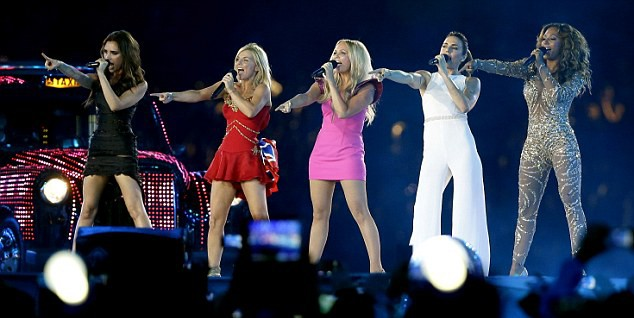 Spice Girls reunion at the Olympics