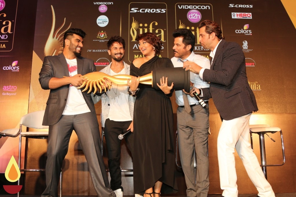 The announcement of the upcoming 16th IIFA Weekend and Awards in Mumbai, India on May 28, 2015