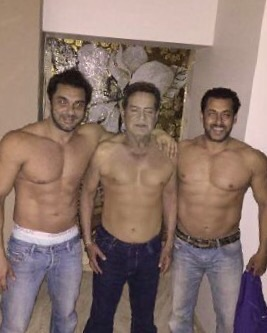 salman, sohail and salim khan