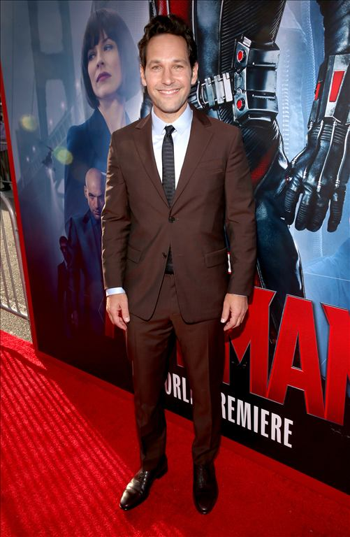 "attends the world premiere of Marvel's ""Ant-Man"" at The Dolby Theatre on June 29, 2015 in Los Angeles, California."