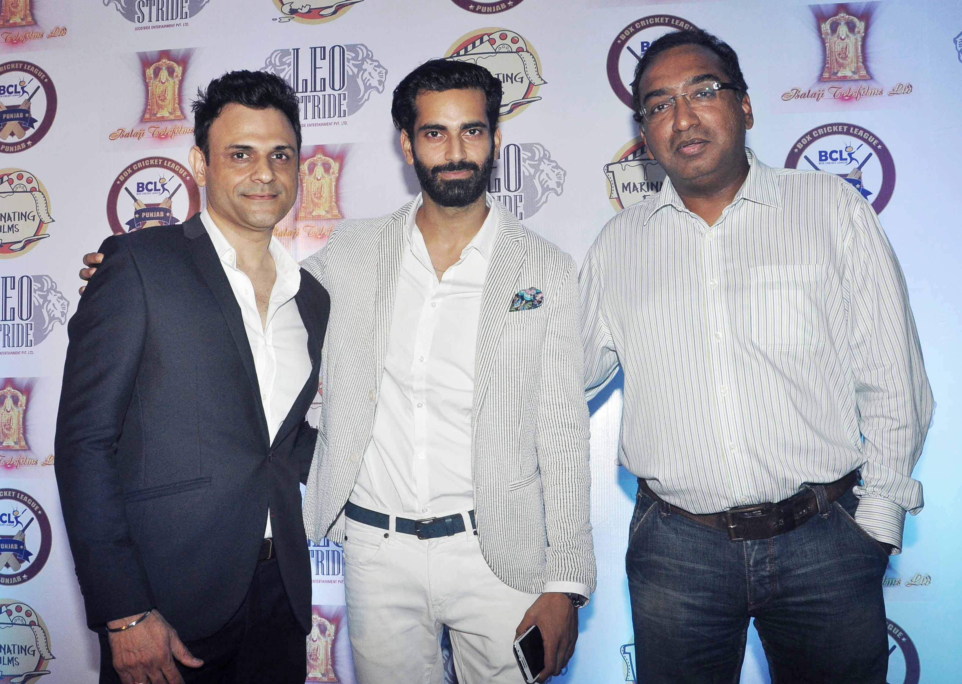Sumit Dutt (Owner BCL-Punjab), Sunny Arora (Founder - BCL), Sameer Nair (Group CEO - Balaji Telefilms)