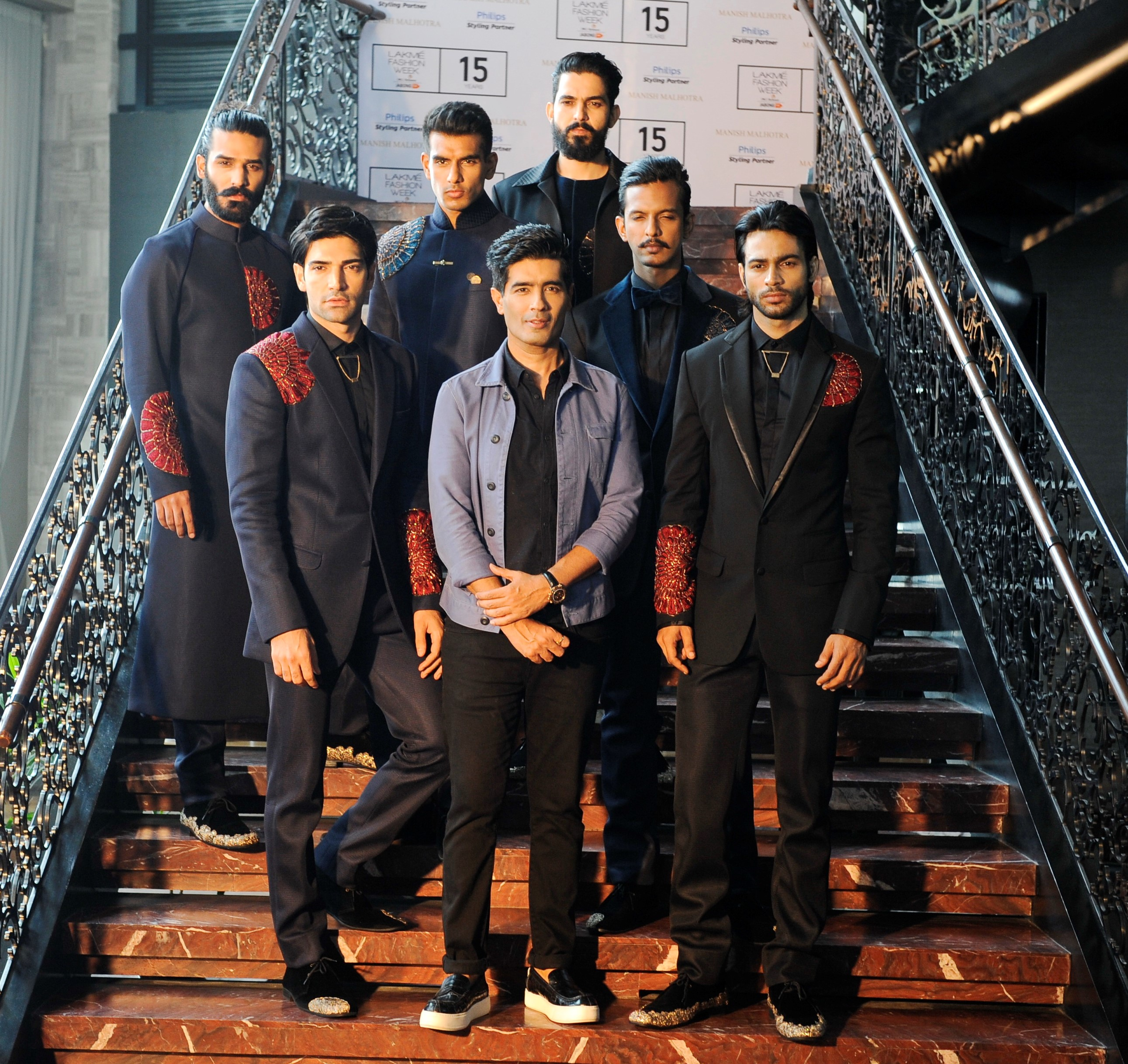 Manish Malhotra previews his LFW WF collection - The Gentlemen's Club