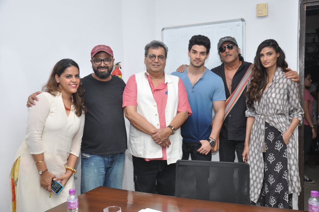Jackie Shroff And Sooraj Pancholi Caught Together At The Excitement Of Celebrate Cinema At Wwi Urban Asian