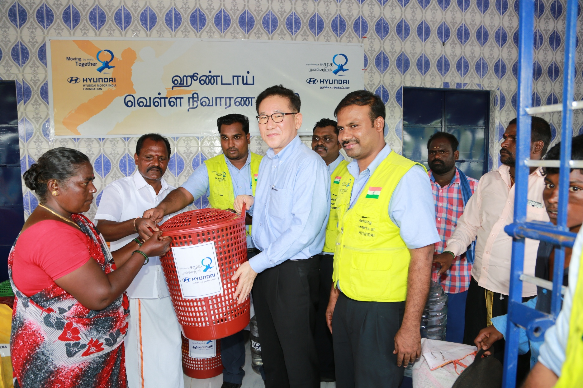 Hyundai Motor India foundation continues Relief and Rehabilitation at Villages of Sriperumbudur- Image 2