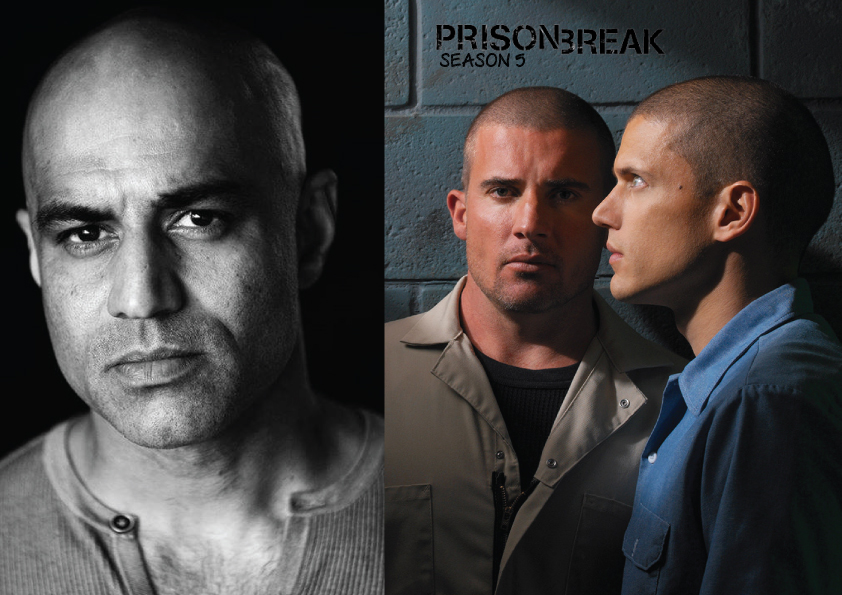 Faran Tahir in Prison Break Season 5