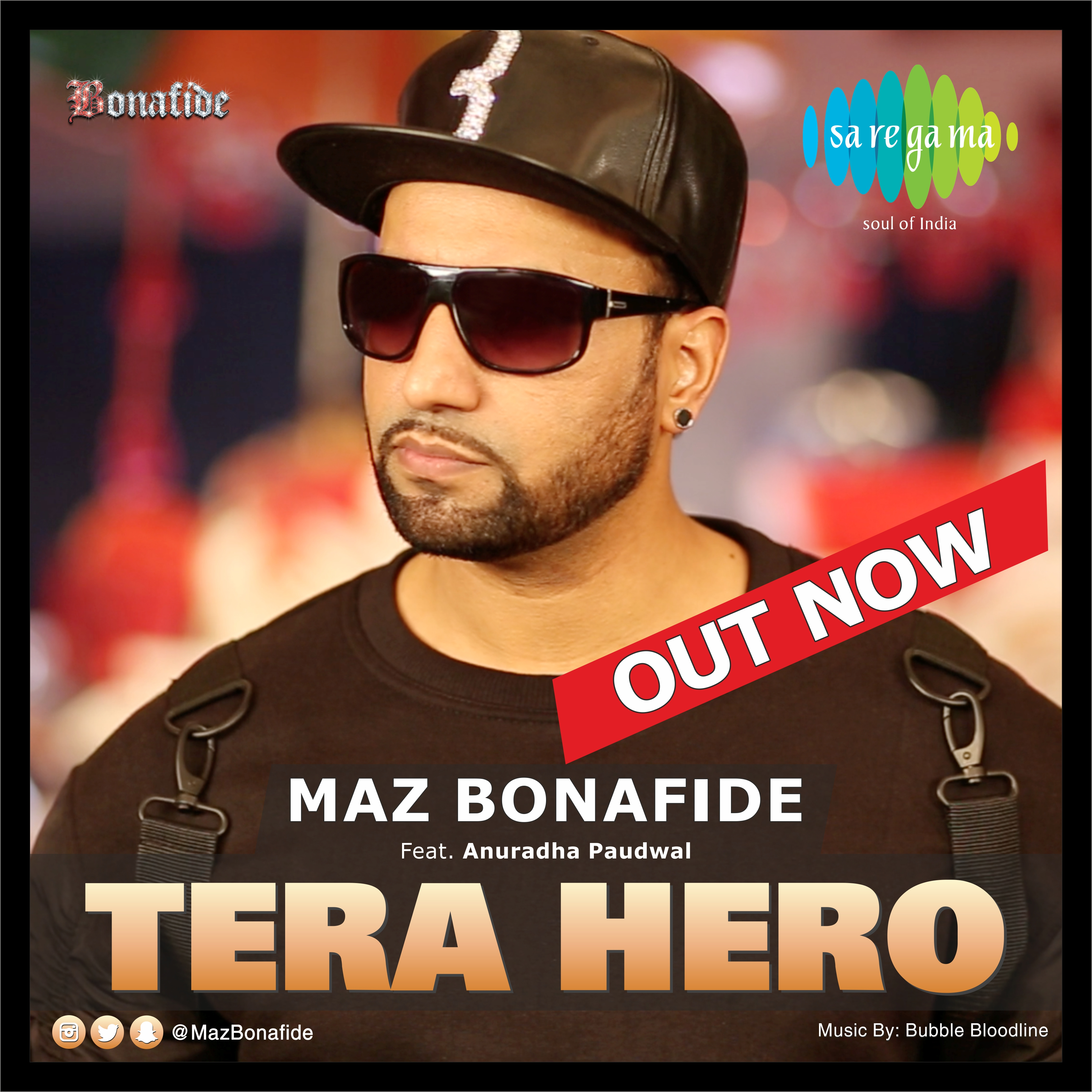 Maz Bonafide Tera Hero CD Cover (06)