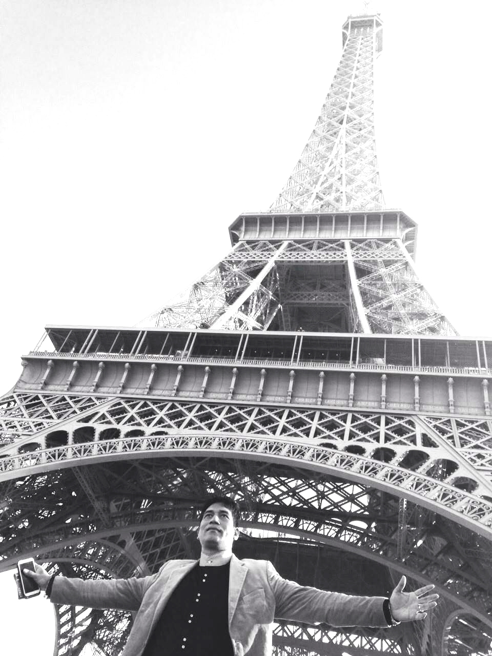 First Time Ever French European Indian Fashion Week on  the Eiffel Tower1