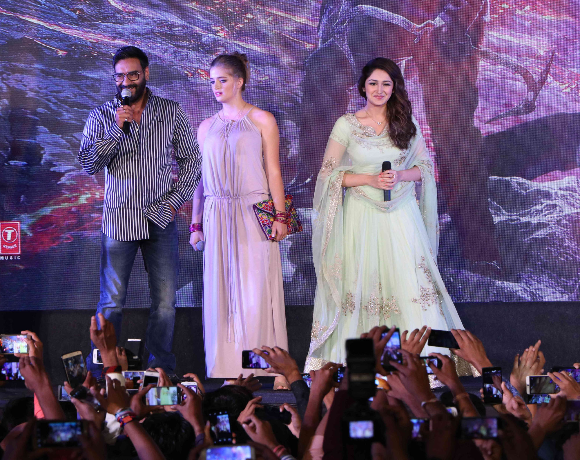 Shivaay Trailer Launch in Indore (1)